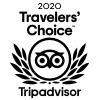 2020 Travelers' Choice Trip Advisor Badge