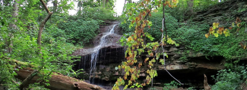 waterfalls in englewood oh