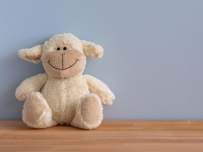 lamb stuffed animal
