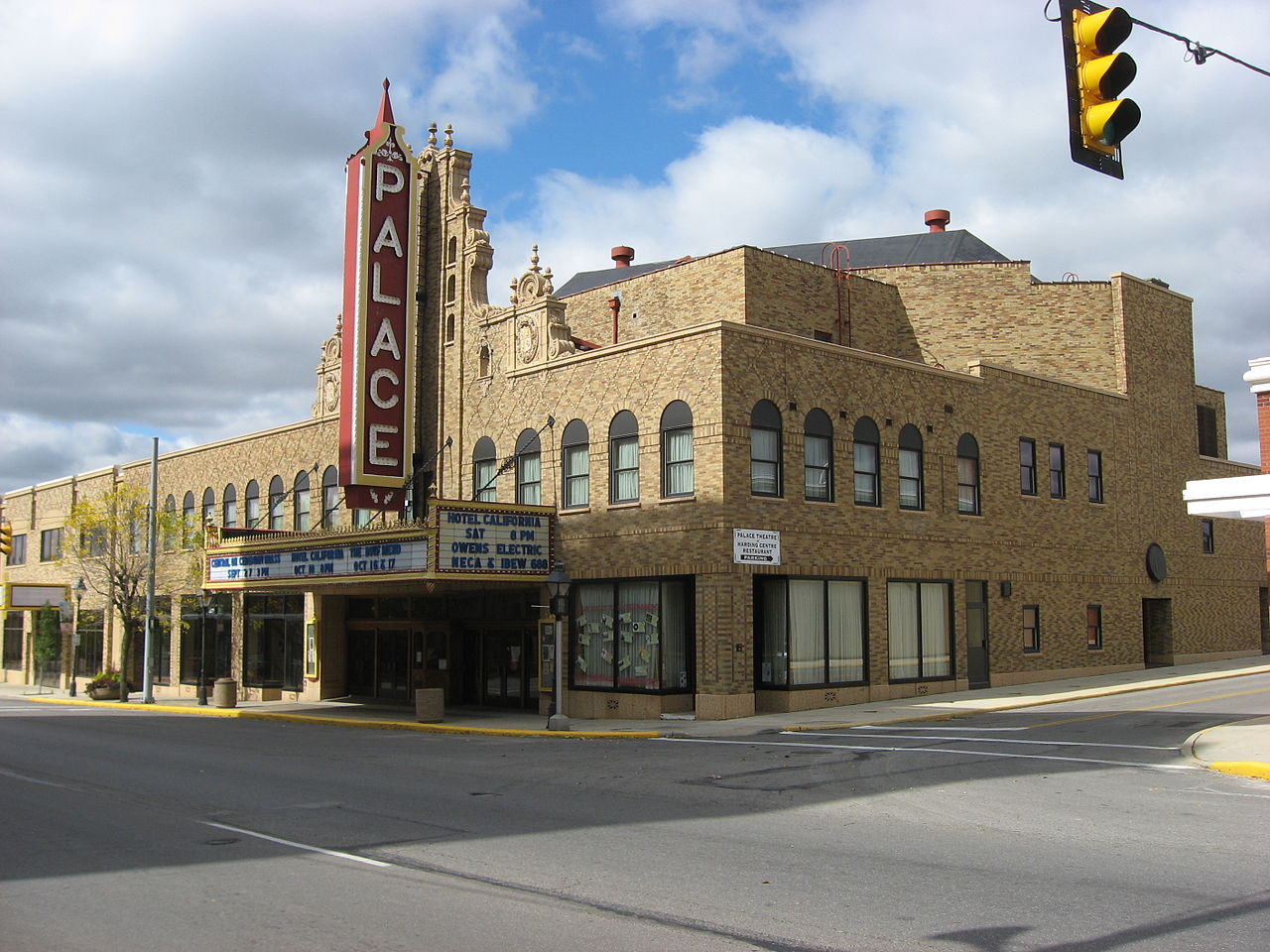 palace movie theater in marion, ohio