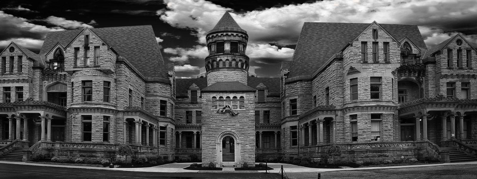 historic Ohio State Reformatory prison