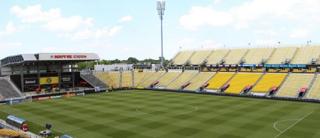 Inside of Mapfre Stadium