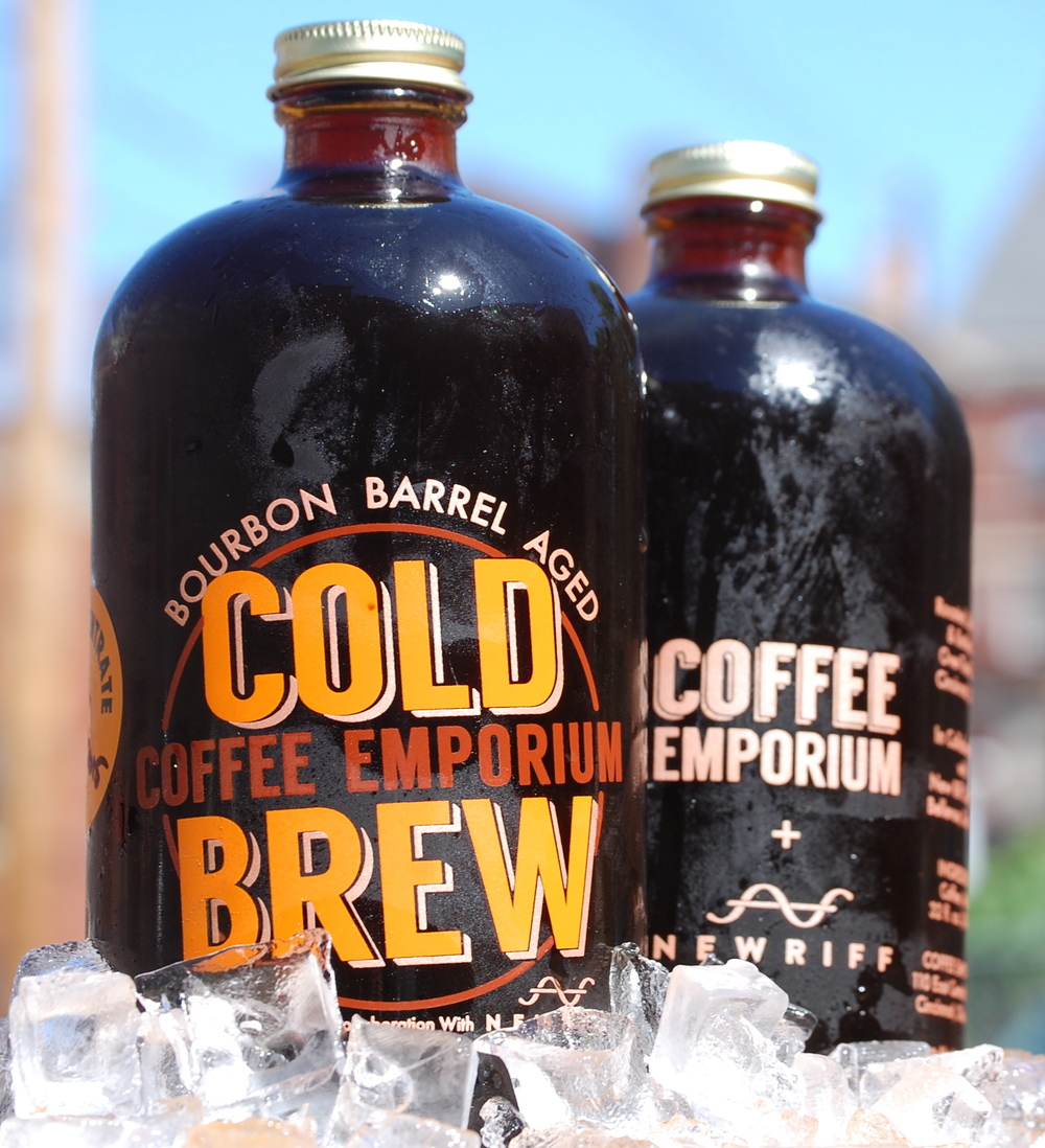 cold brew coffee fro  the Coffee Emporium in Hyde Park