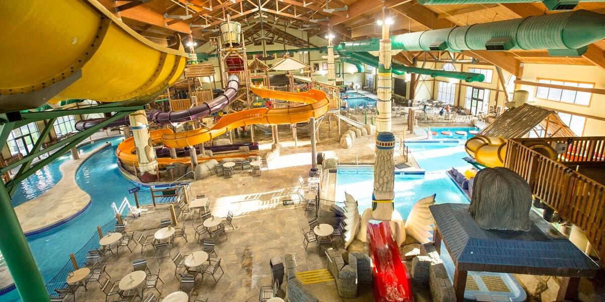 indoor waterpark, great wolf lodge Sandusky Ohio