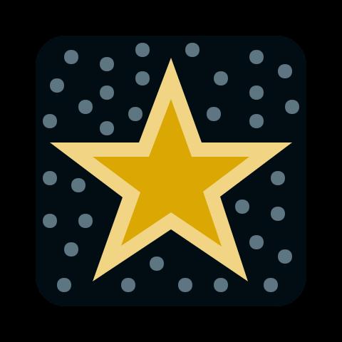 celebrity star icon