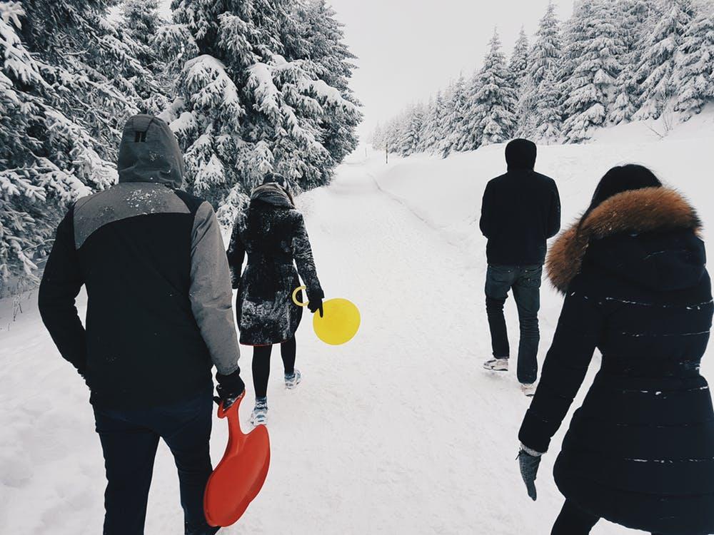 before the blizzard snow shovel