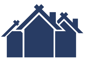 multiple houses icon