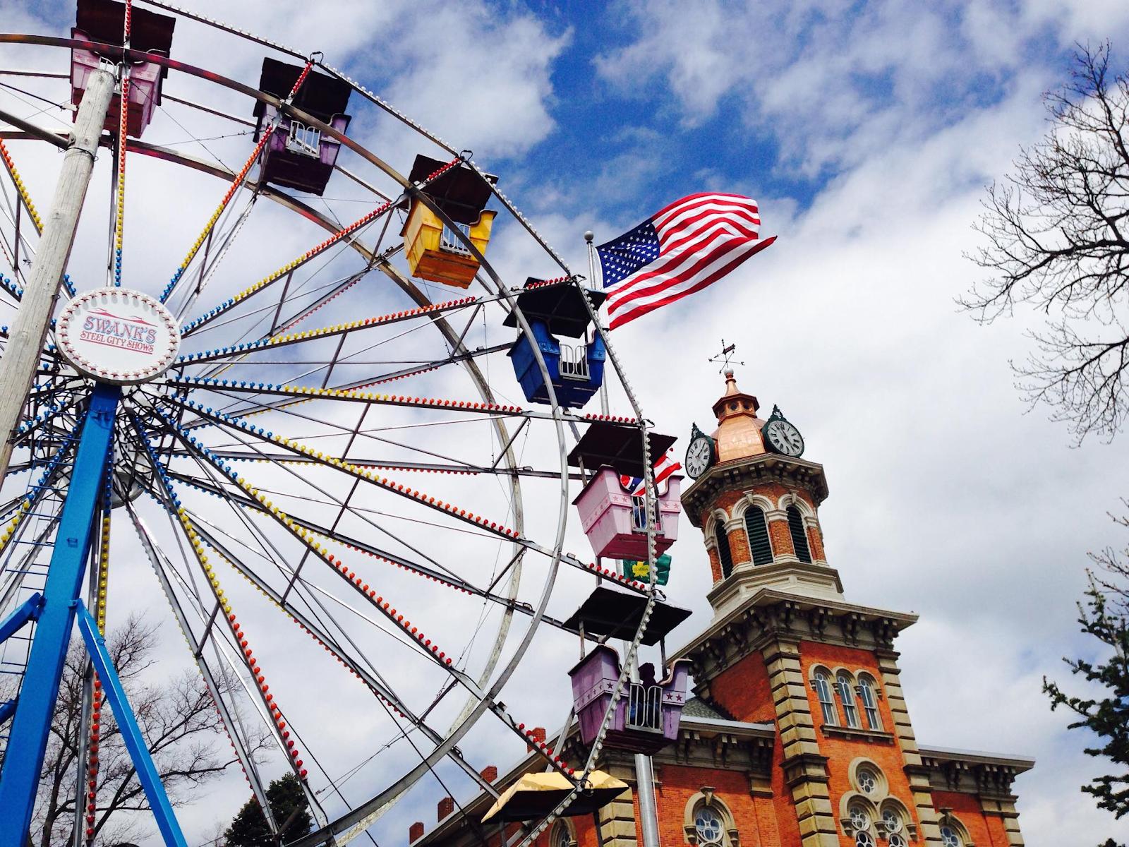 Ferris wheel in Geauga County Maple Festival
