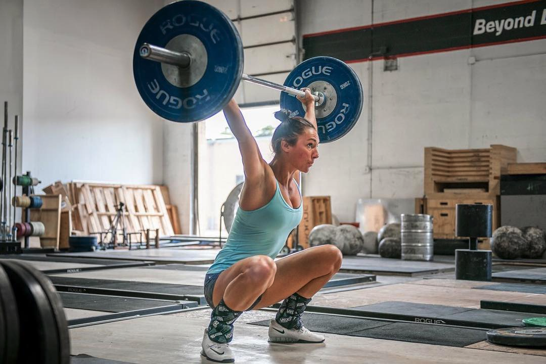 Woman power lifting at Beyond Limits