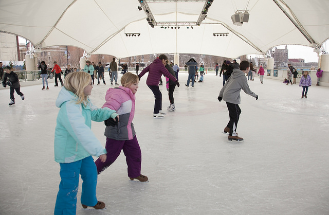Riverscape MetroPark Ice Rink