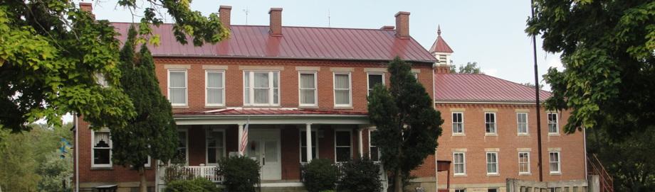 exterior of Greene County Museum