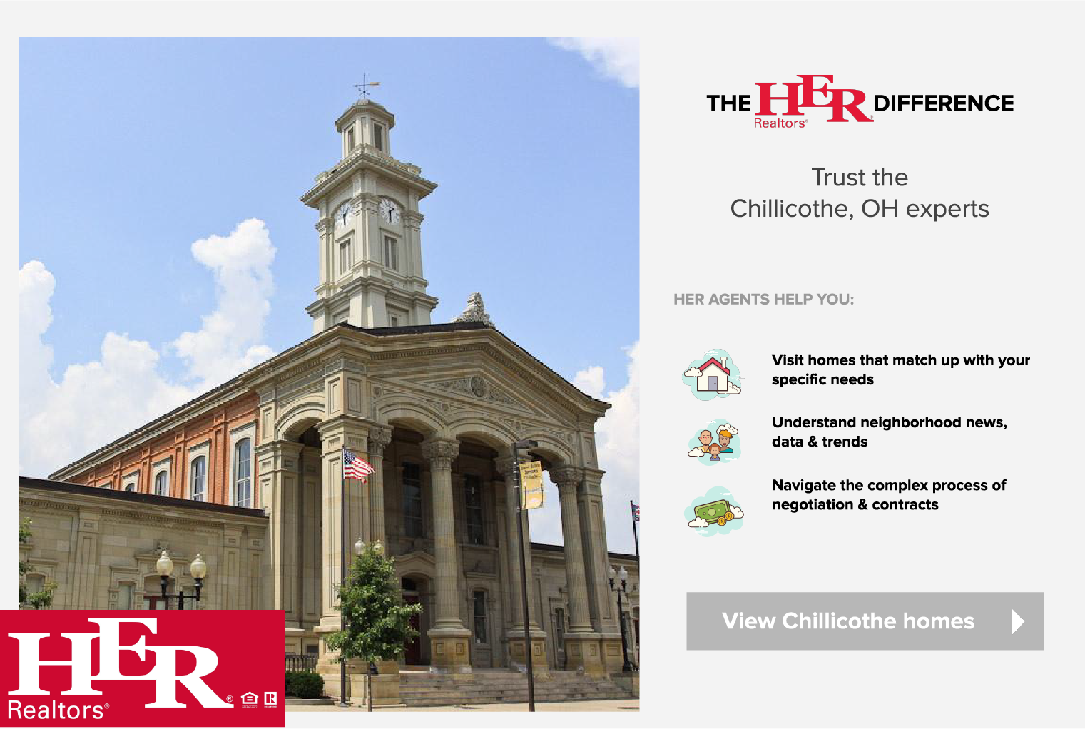 CHILLICOTHE HOMES FOR SALE