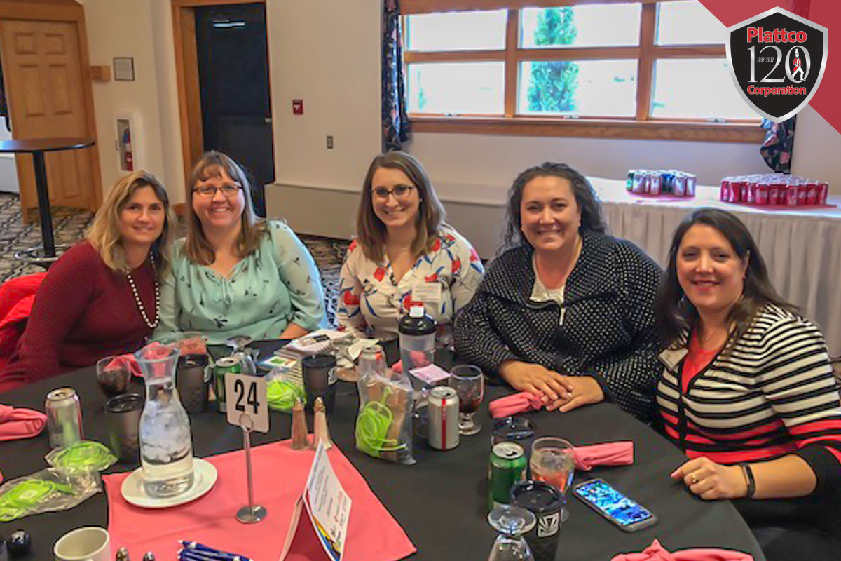 Plattco women's workshop group photo