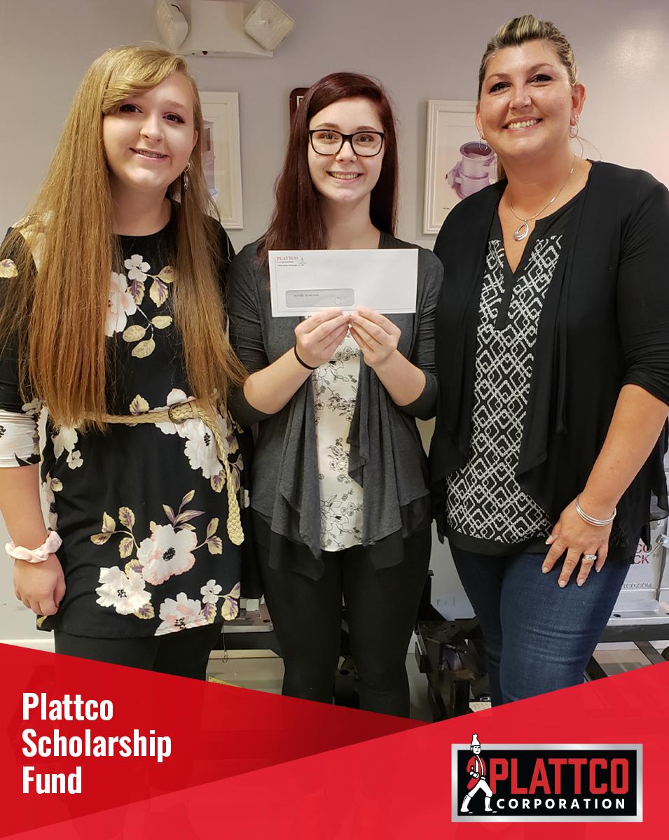 Plattco Scholarship Fund Winner