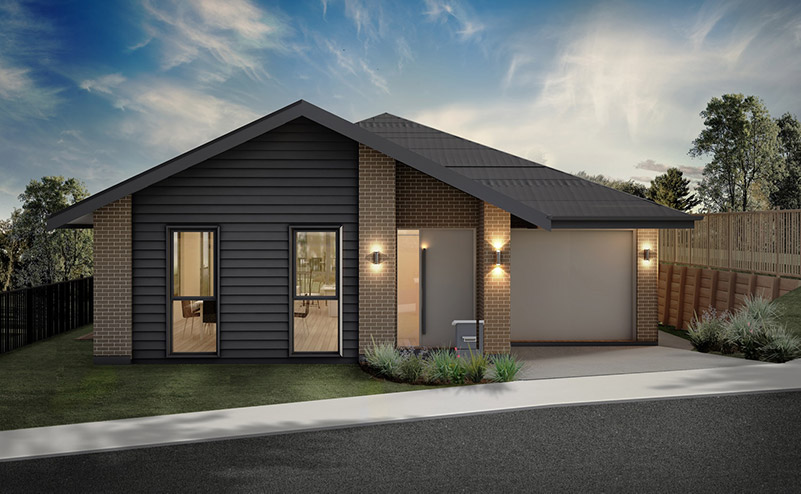 Artist's impression of Lot 207 at Parkview Helensville