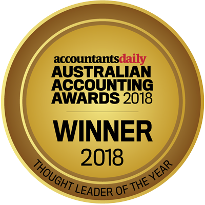 Australian Accounting Awards Thought Leader