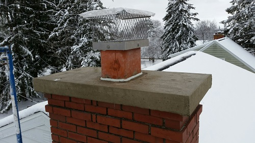 Concrete Chimney Cap