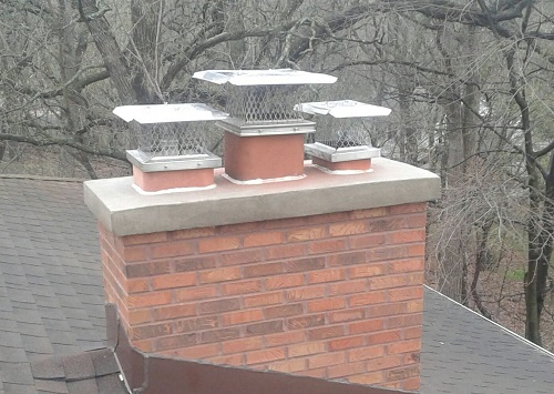 Concrete Chimney Cap & Rain Caps
