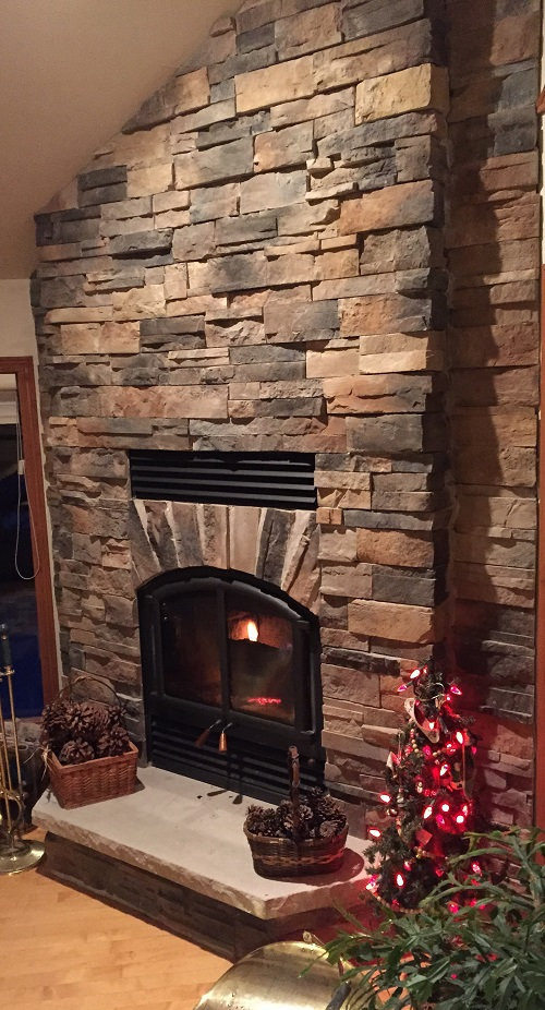 Fireplace and Stone Work