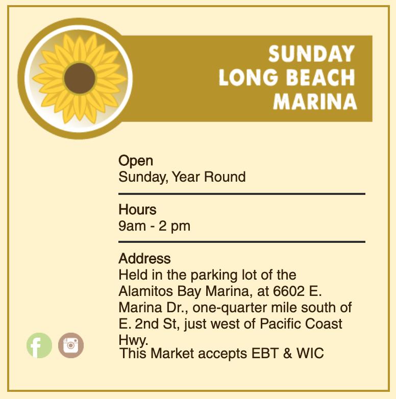 Marina Famers' Market