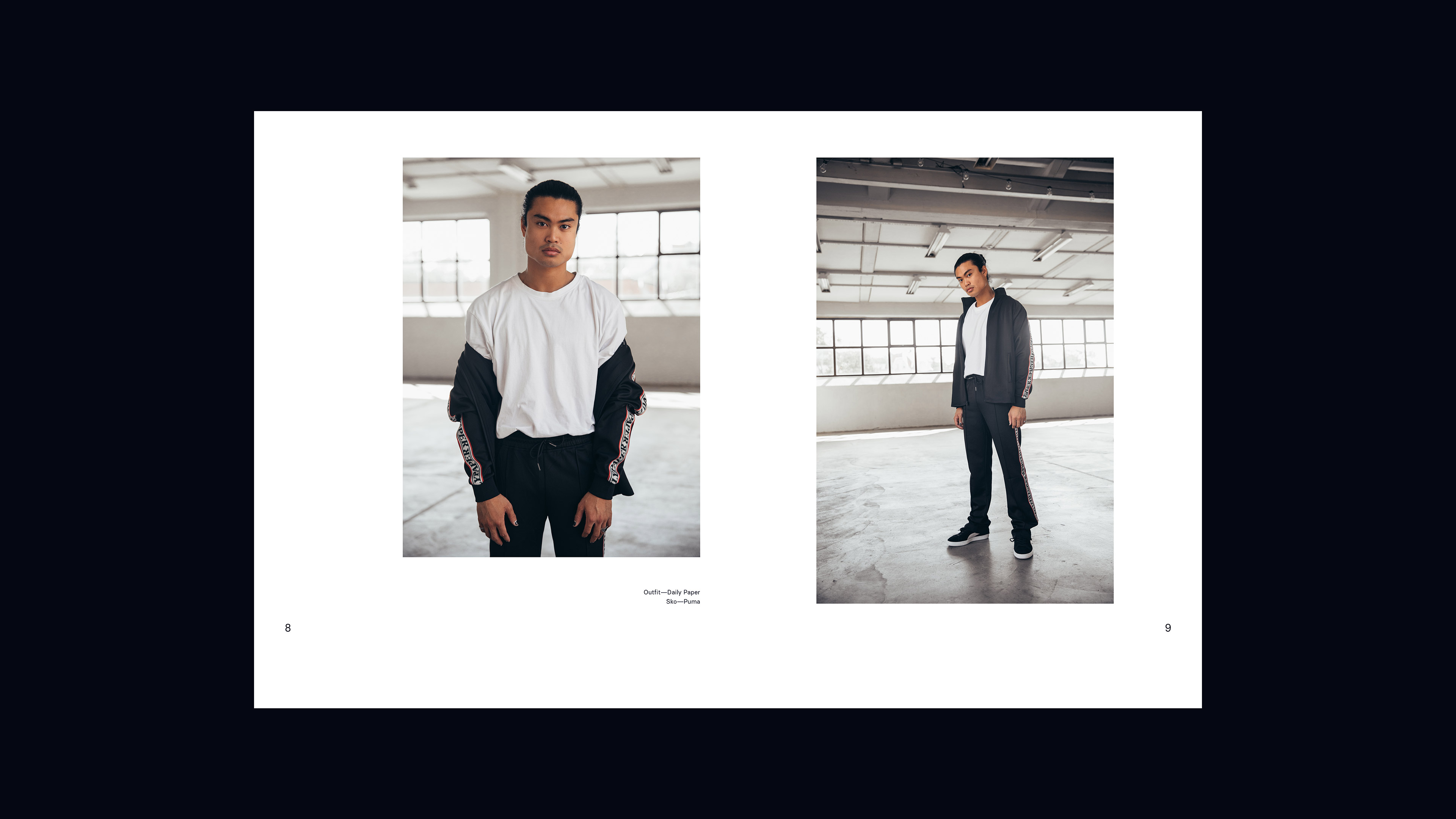 Qomo Mag lookbook