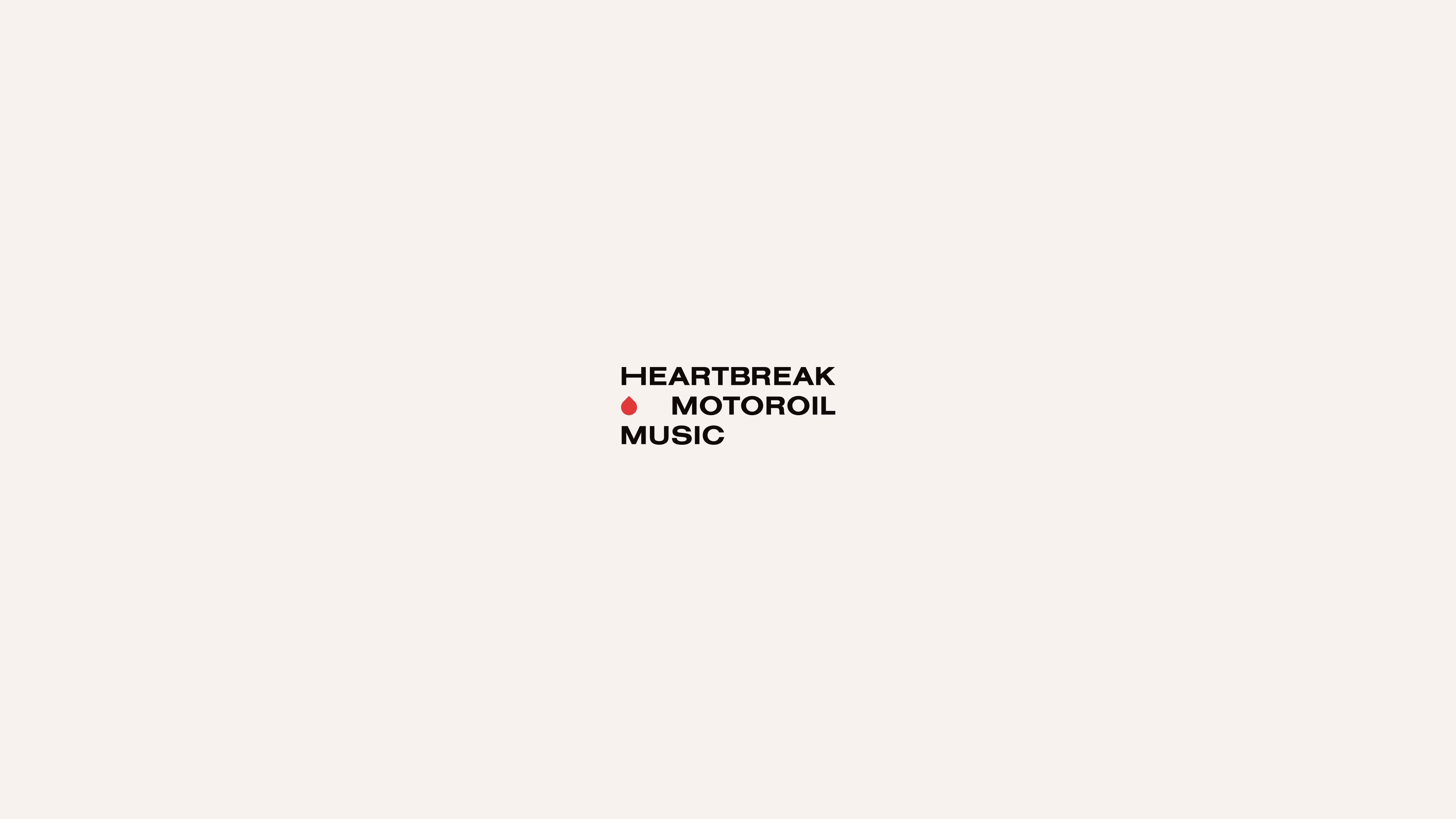 Heartbreak Motoroil Music logo