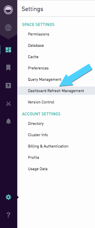 Dashboard Refresh Management | Periscope Data Docs