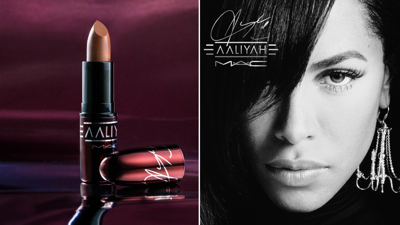 MAC x Aaliyah makeup collaboration