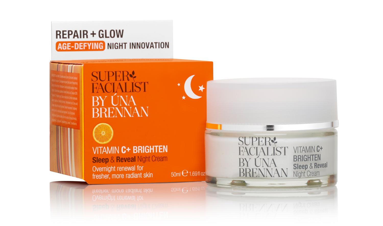 SUPER FACIALIST Vitamin C Sleep and Reveal Night Cream, £16.99