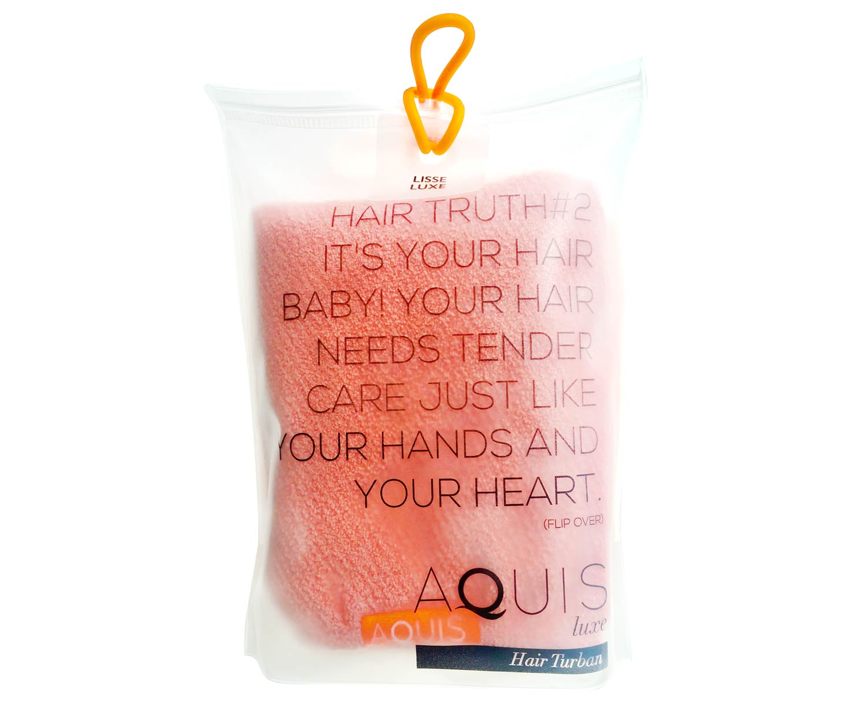 AQUIS Hair Towel, £30