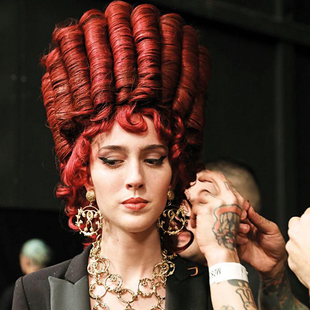 ghd x Moschino wig