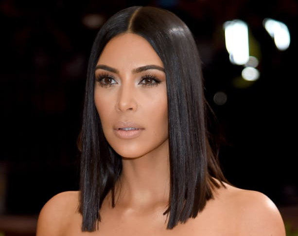 Kim Kardashian - Glass Hair