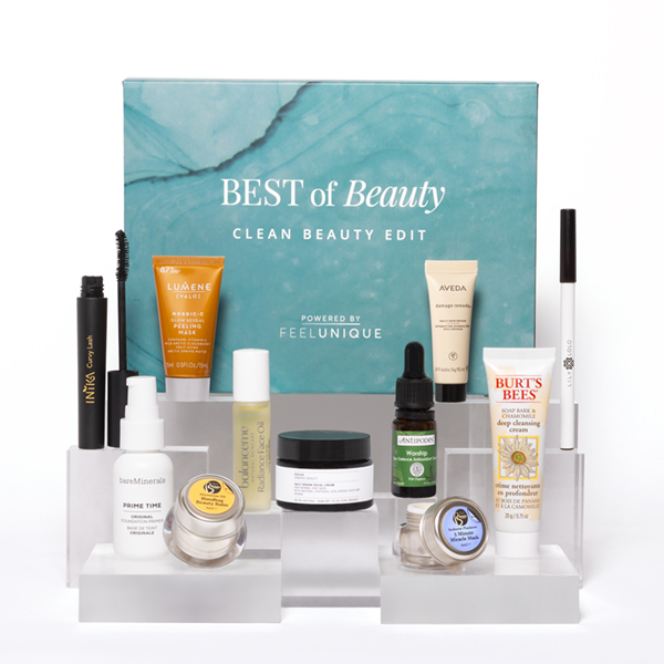 CLEAN BEAUTY EDIT Powered by FeelUnique £39 worth £104
