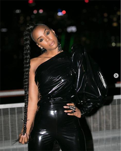 Kelly Rowland ponytail