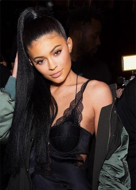 Kylie Jenner ponytail