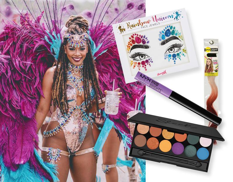 Carnival makeup - Drama kween