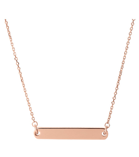 Links of London Rose Gold Bar Necklace, £120