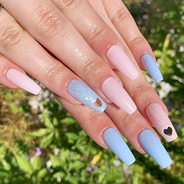 The Spell-ometer: Hole punched nail extensions