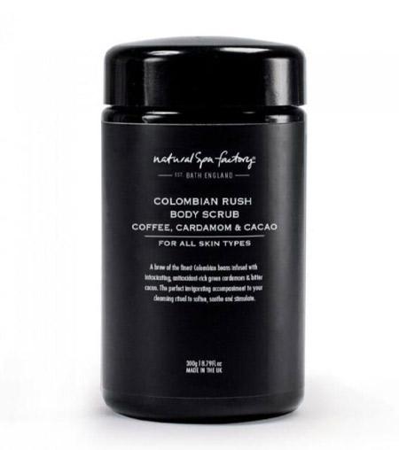 Natural Spa Factory Colombian Rush Coffee Body Scrub