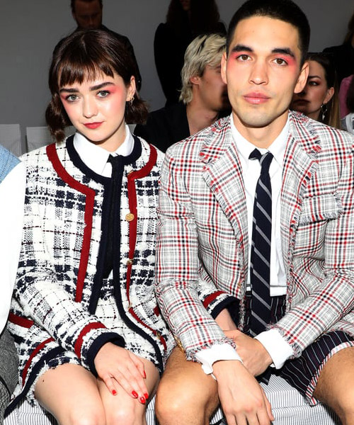 Maisie Williams and boyrfriend