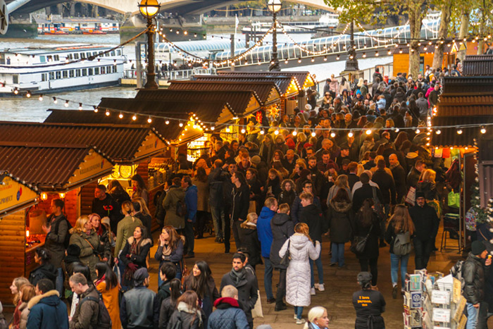 Southbank Centre Christmas market