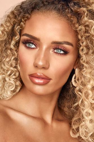 Golden Goddess - festive make-up