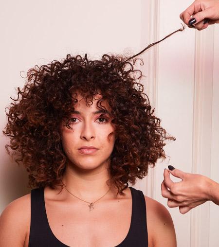 ghd festive hair tutorial - step 3