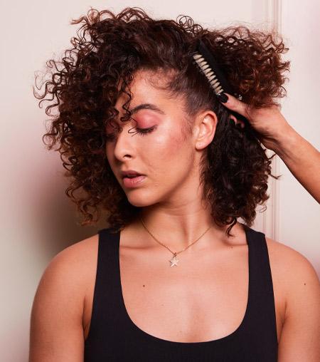 ghd festive hair tutorial - step 5