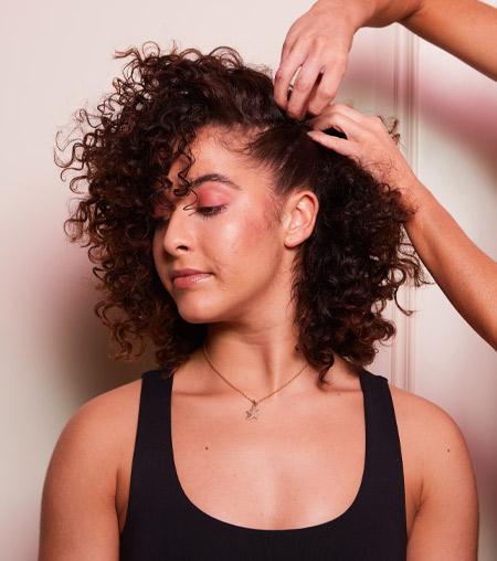 ghd festive hair tutorial - step 6