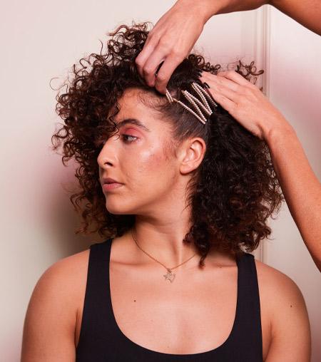 ghd festive hair tutorial - step 7