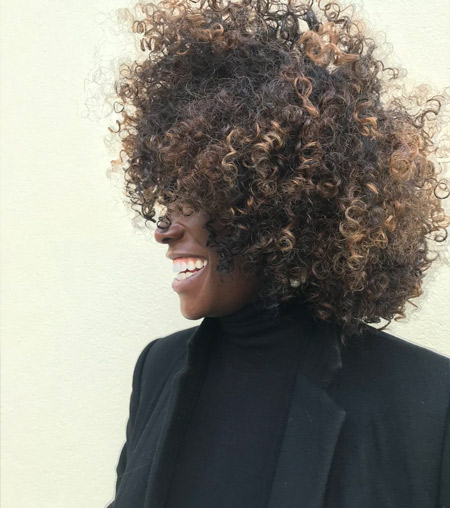 Lorraine Pascale - Natural Afro