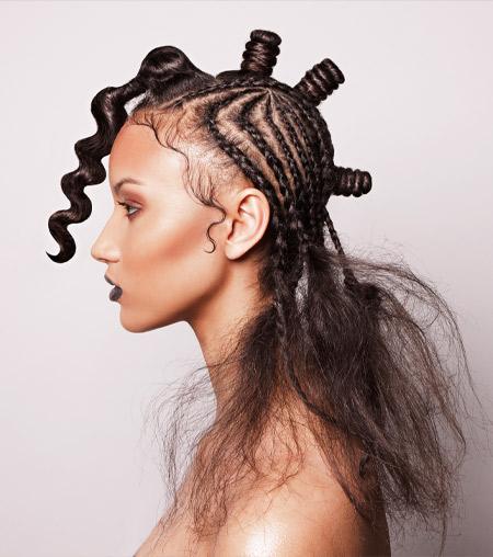 Lisa Farrall hair
