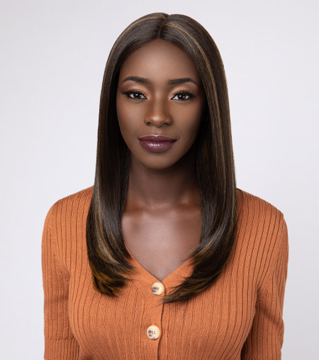 The Feme Collection Lace Wig - Classic Flip