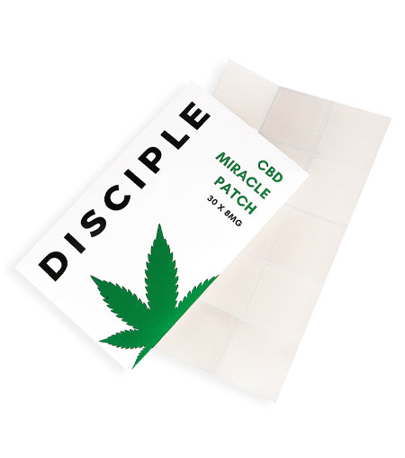 DISCIPLE LONDON CBD Miracle Patches, £30